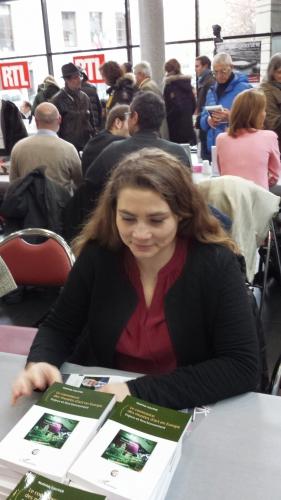 mathilde gautier,salon du livre,boulogne billancourt